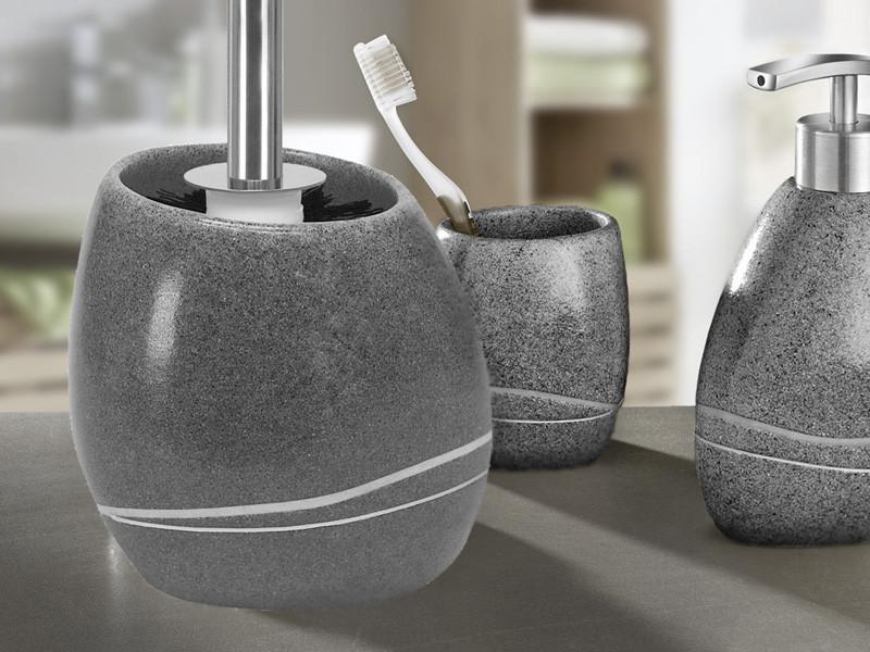 Szczotka WC KW Stones Grey