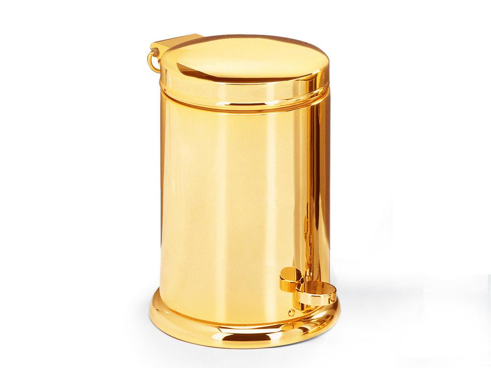 Kosz na śmieci Decor Walther Luxury Model TE 37 Softclose Gold