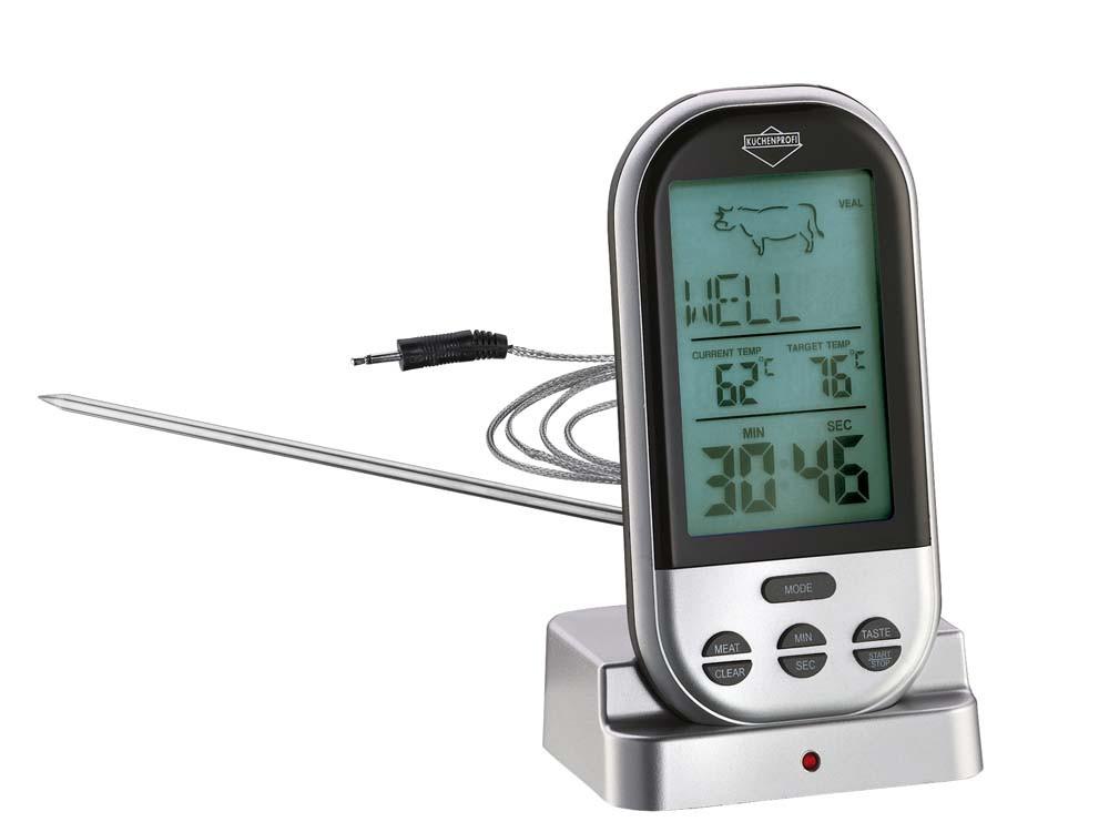 Termometr do mięsa z minutnikiem Kuchenprofi Profi