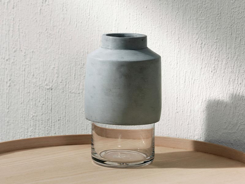Wazon Menu Willmann Vase Concrete