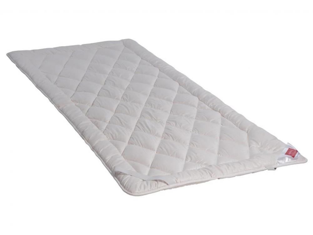Podkład na materac / Ochraniacz Hefel Wellness Wool Zirbe 140x200