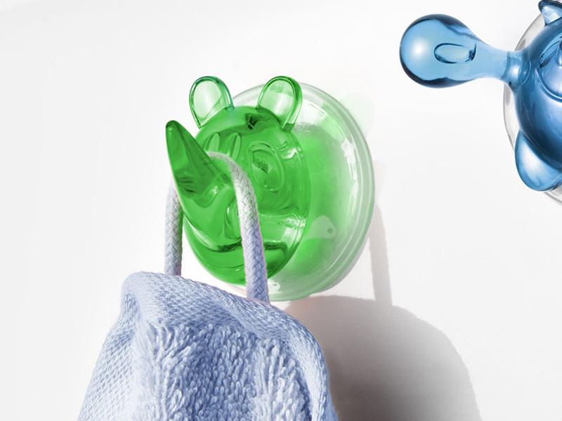 Wieszak łazienkowy Ricco Rhino Green