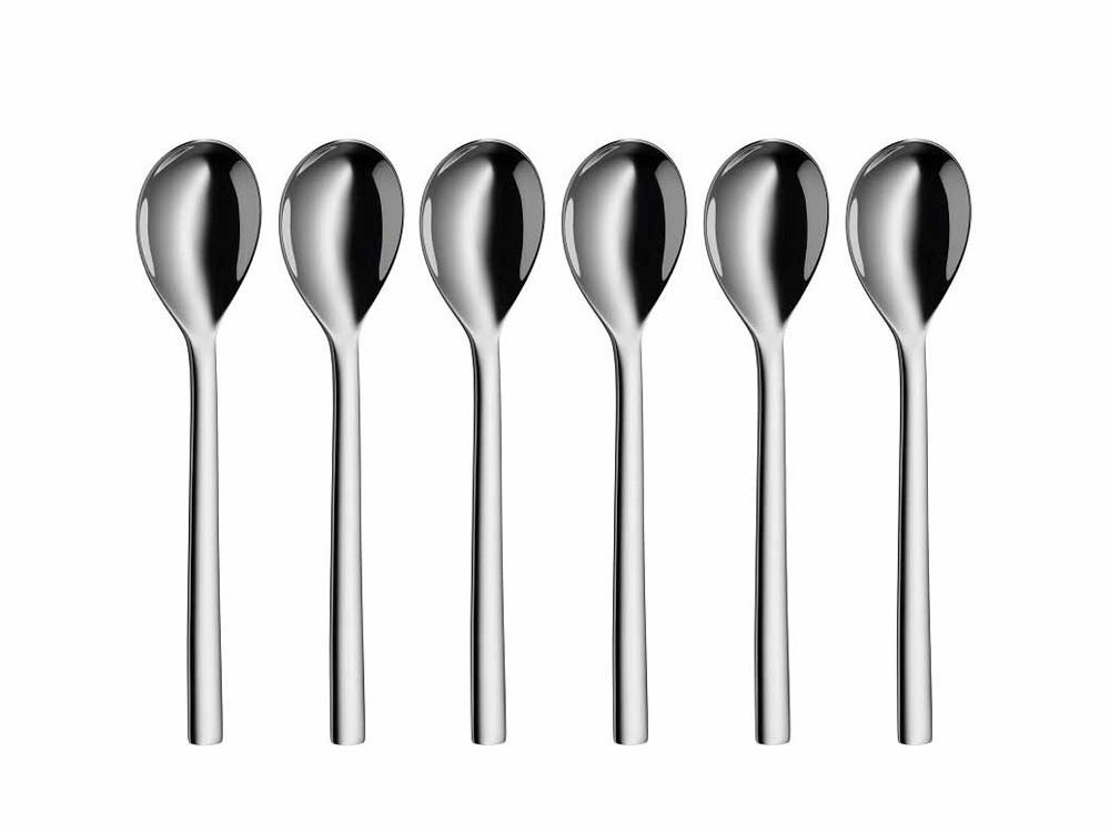 Zestaw łyżeczek deserowych x6 WMF Nuova Silver