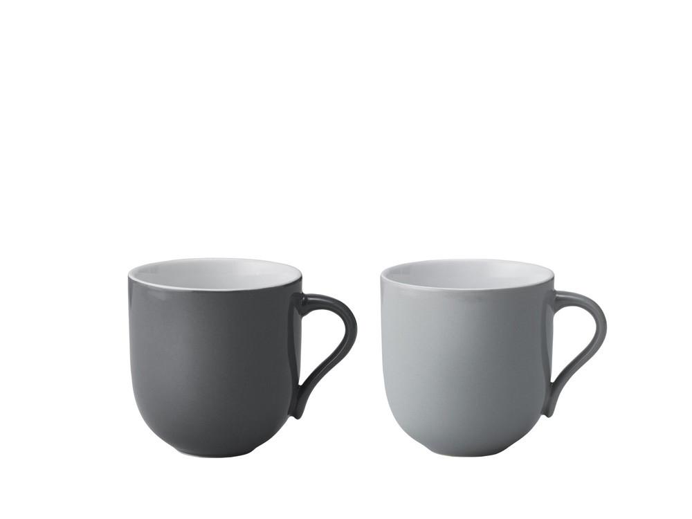 Kubek do gorących napojów zestaw x2 Stelton Danish Modern 2.0 Emma Grey
