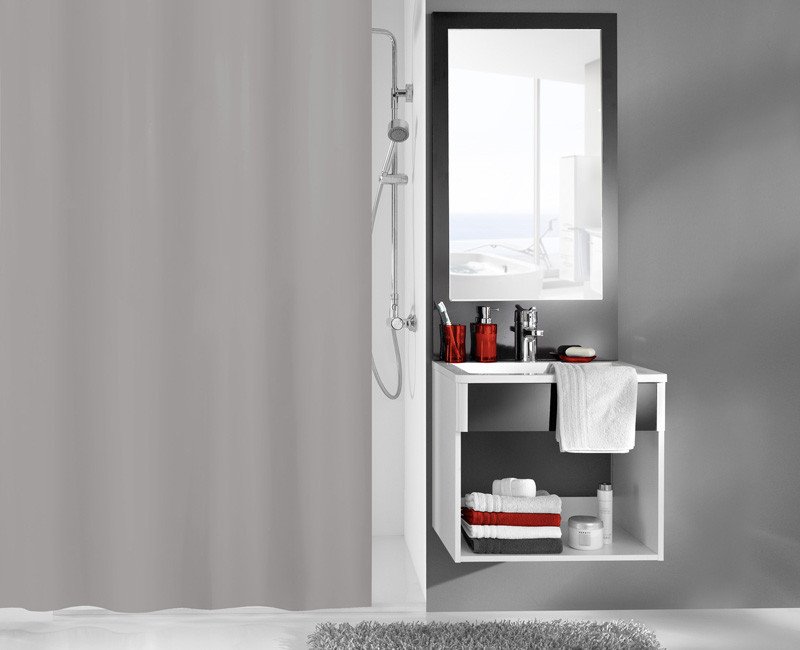 Zasłona Kito Grey 180x200