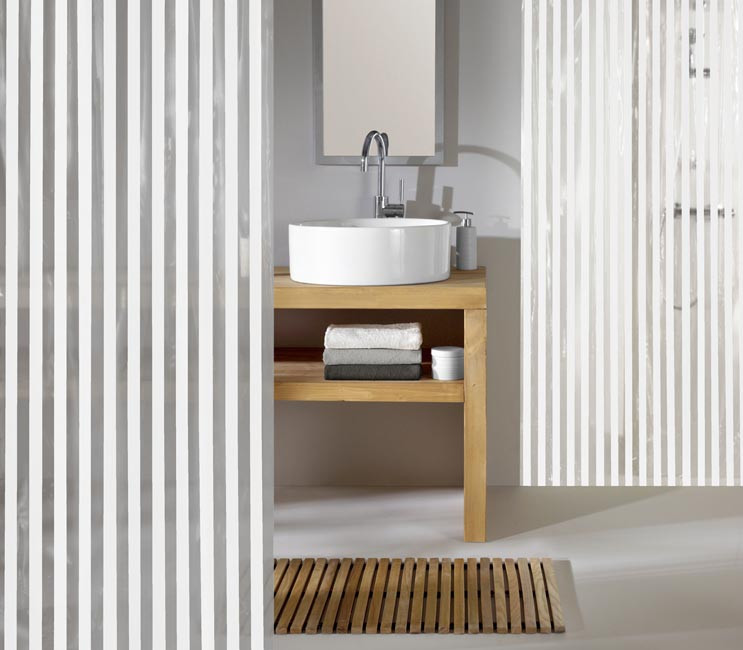 Zasłona Noa White 180x200