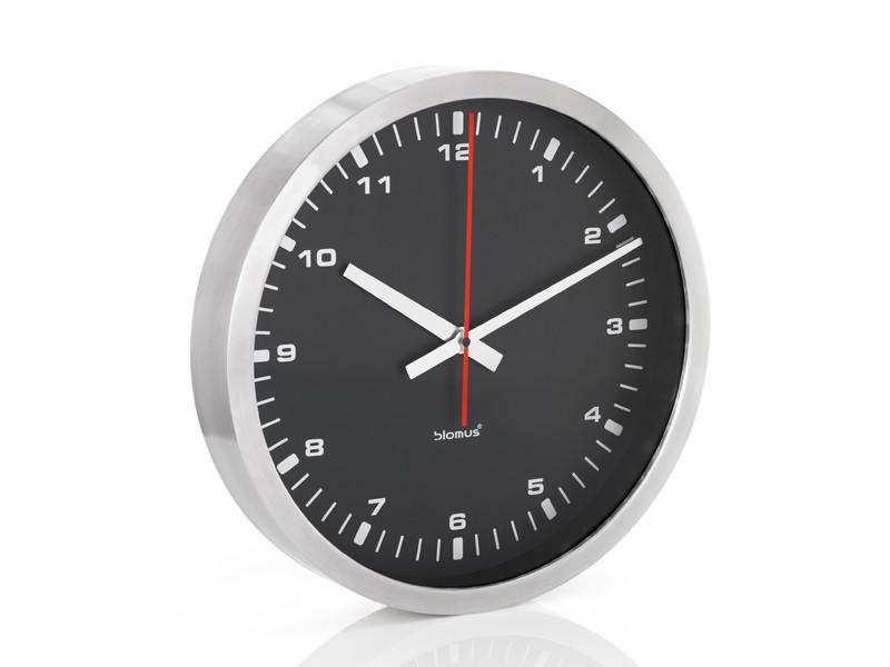 Zegar ścienny Blomus Era Black 40 cm