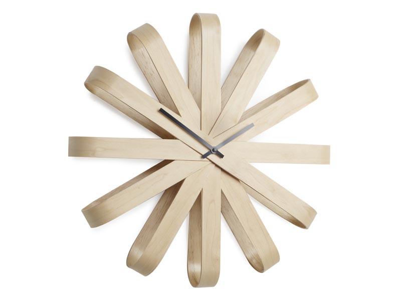 Zegar ścienny Umbra Ribbonwood Natural